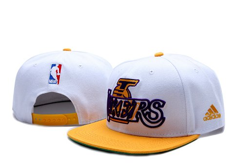 Los Angeles Lakers NBA Snapback Hat YS094